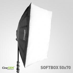 Softbox 50x70cm - oprawa oświetleniowa na 4 żarówki typu E27