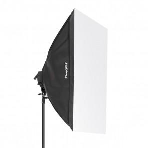 Softbox 80x120cm - oprawa na 5 żarówek