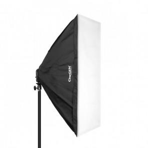 Softbox 50x70cm - oprawa na 4 żarówki