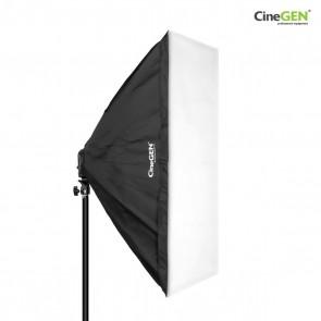 Softbox 60x60cm - oprawa oświetleniowa na 4 żarówki
