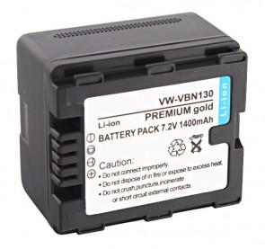 Akumulator VW-VBN130 z chipem 1400mAh