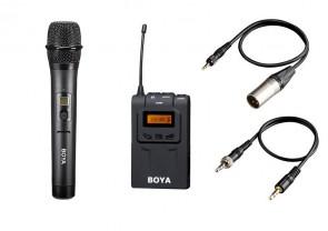 Zestaw: mikrofon + odbiornik
