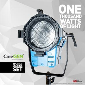 Lampa fresnela 1000W na statywie 260cm