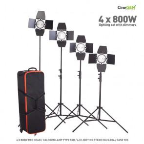Zestaw lamp do filmu i fotografii
