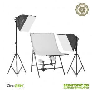 Zestaw do fotografii bezcieniowej BrightSpot™ 355