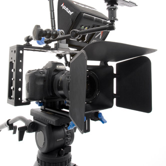 Video Cage and Matte Box