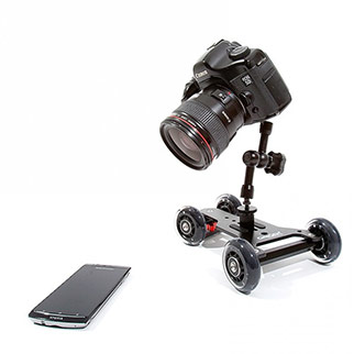 Jazda kamerowa wózkiem CG-202SD