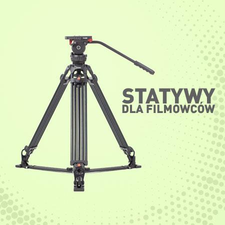 Statywy do filmowania lustrzankami