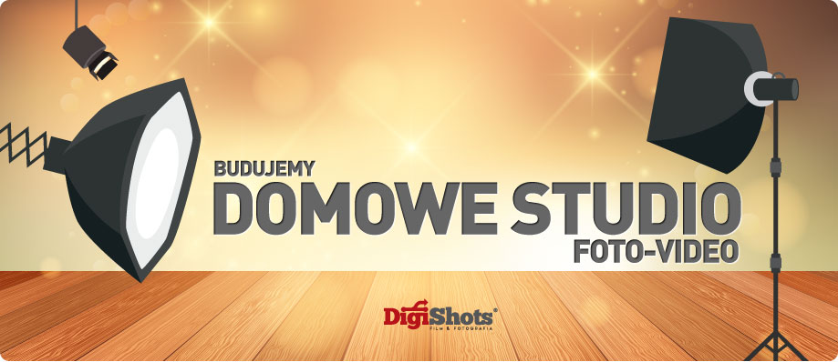 Domowe studio foto video