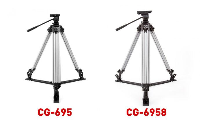 Statywy do pracy z kranem kamerowym