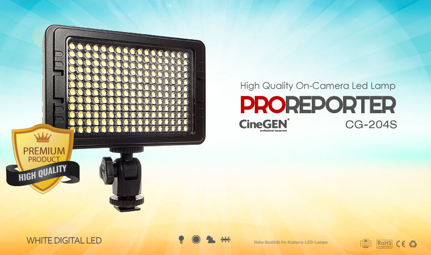 Lampa LED do kamery video