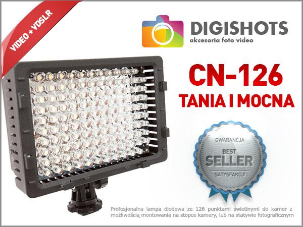 CN-126 - bestseller w klasie LEDów nakamerowych