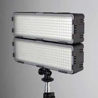 2 połączone lampy 2400PRO
