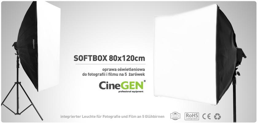 Softbox - światło ciągłe