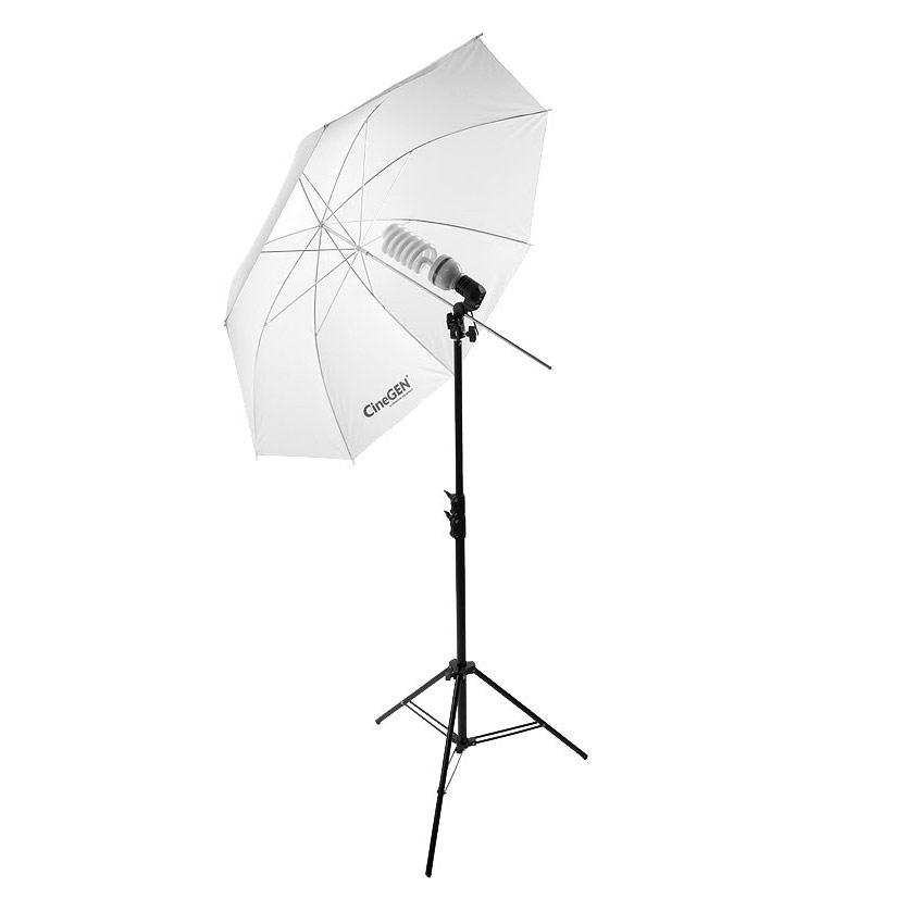 Lampa światła stałego z parasolką