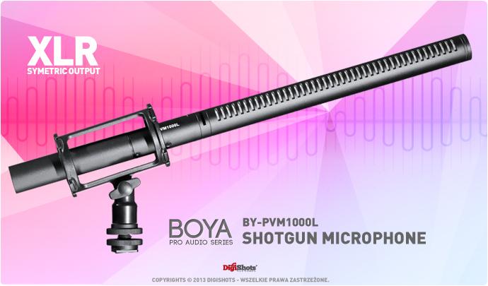 Mikrofon kierunkowy typu shotgun