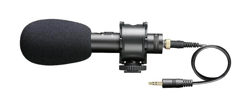 Mikrofon zewnętrzny do kamer i lustrzanek