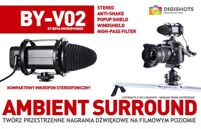 Mikrofon STEREO 3D