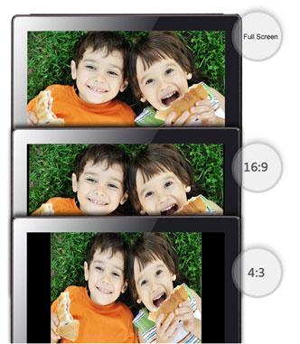 Formaty wyświetlanego obrazu