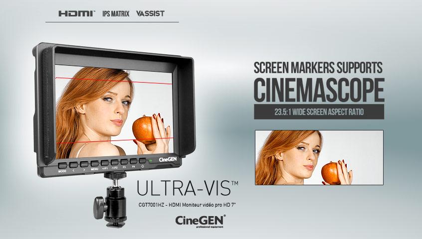 Monitor podglądowy UltraVis wspiera produkcję w formacie 23.5:1