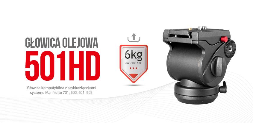 Głowica olejowa 501HD