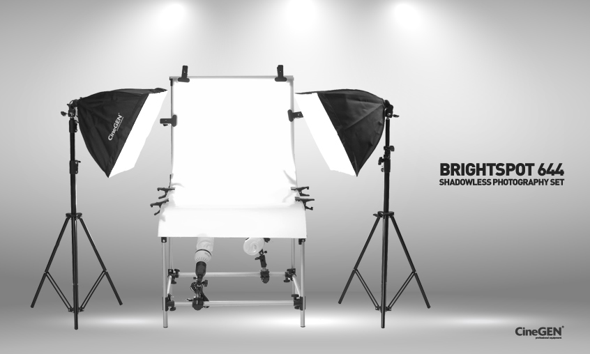 Zestaw do fotografii bezcieniowej BrightSpot™ 644