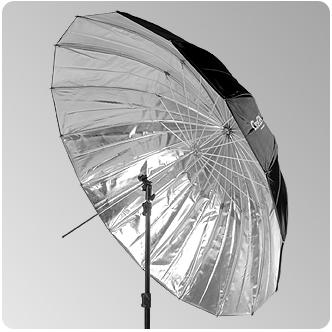 Parasolka 150cm srebrna