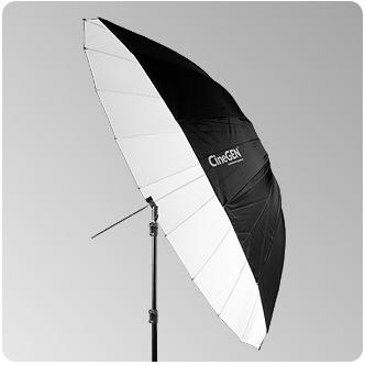 Parasolka 150cm biała