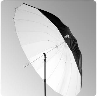 Parasolka 185cm biała