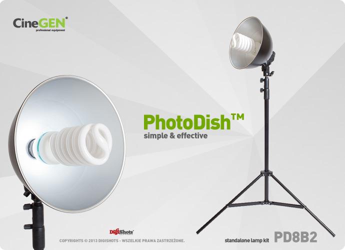 Lampa z reflektorem