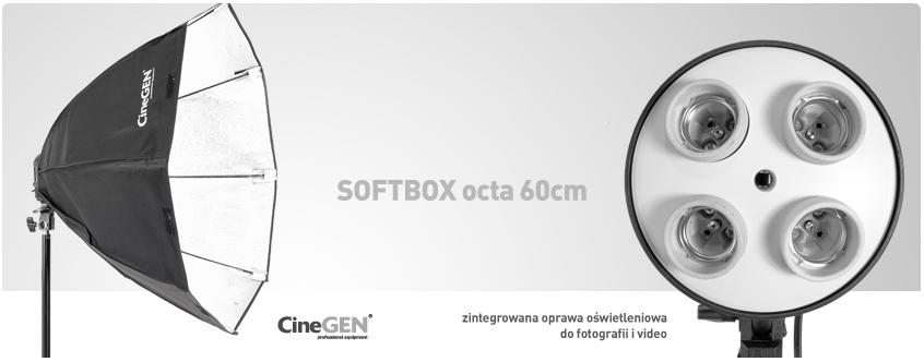 Oprawa typu softbox